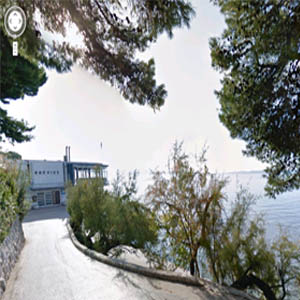Bačvice na Google Street View