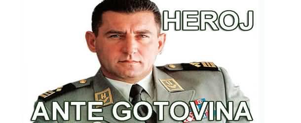 Heroj Ante Gotovina