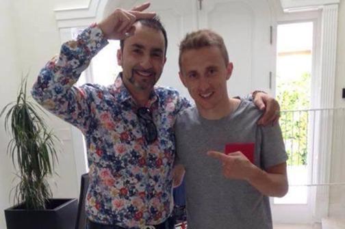 Luka Modrić sa kratkom kosom
