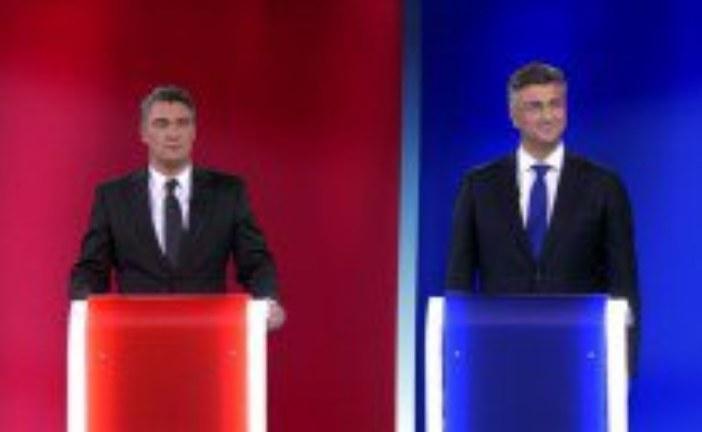 Sukob Zorana Milanovića i Andreja Plenkovića u sučeljavanju na Novoj TV