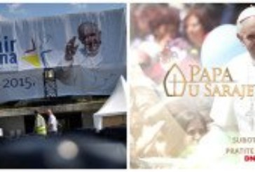 PRATITE UŽIVO Papa Franjo stiže u Sarajevo