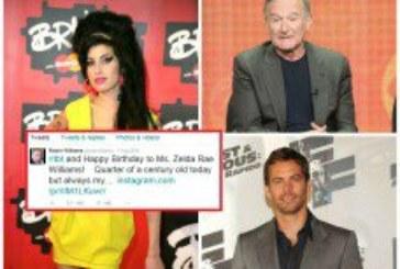 Poruke na Twitteru koje su napisali prije smrti