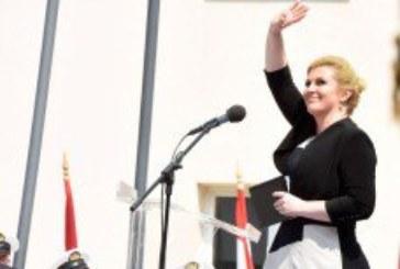 Govor predsjednice Grabar Kitarović u Kninu