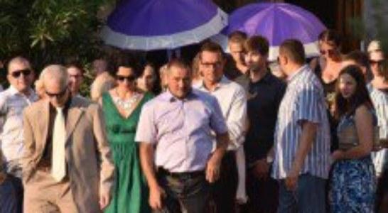 Vjenčanje Borisa Novkovića i Ines Katić
