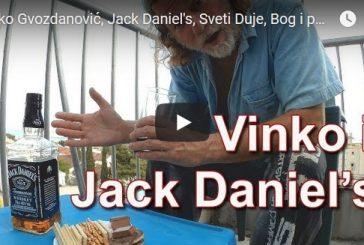 Vinko Gvozdanović, Jack Daniel's, Sveti Duje, Bog i politika