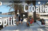 Split Croatia riva ljeto 2018