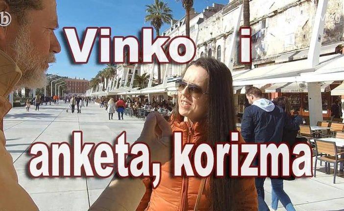 Vinko Gvozdanović radi anketu o korizmi na rivi